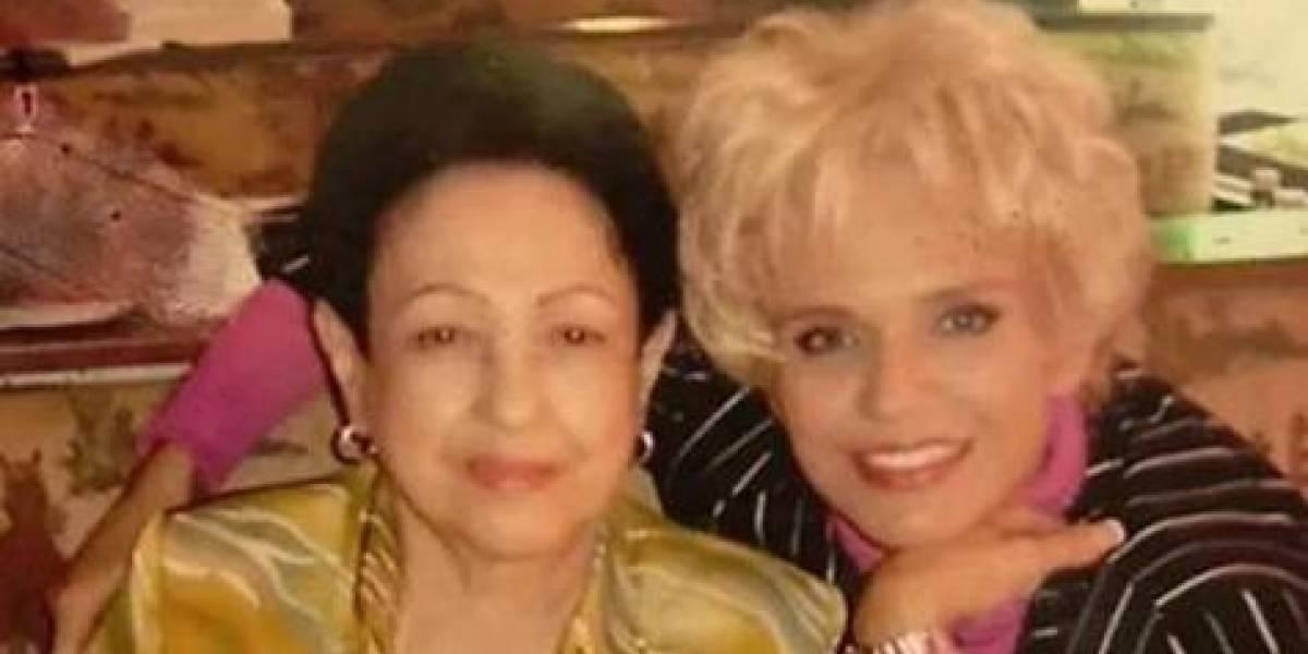 Falleció la madre de Charytín Goico