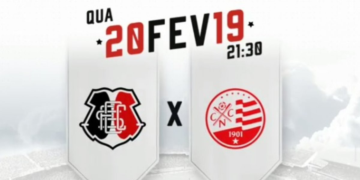 Copa do Brasil 2019: onde assistir ao vivo online o jogo SANTA CRUZ X NÁUTICO