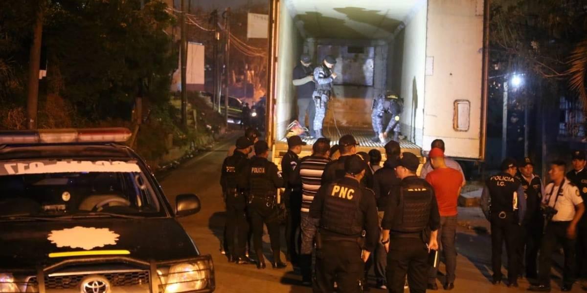 Autoridades continúan conteo de droga en Amatitlán e Izabal
