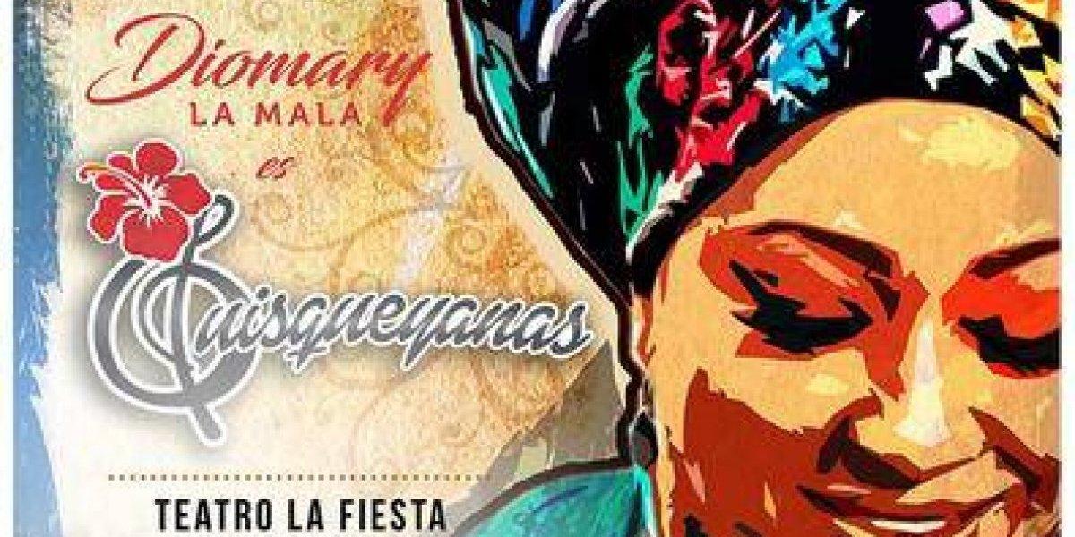 """Diomary la Mala presentará disco """"Quisqueyanas"""" el sábado 9 de marzo"""