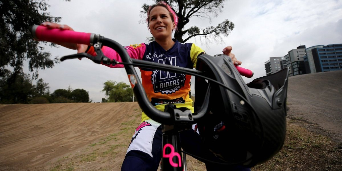 Doménica Azuero, la reina del bicicrós