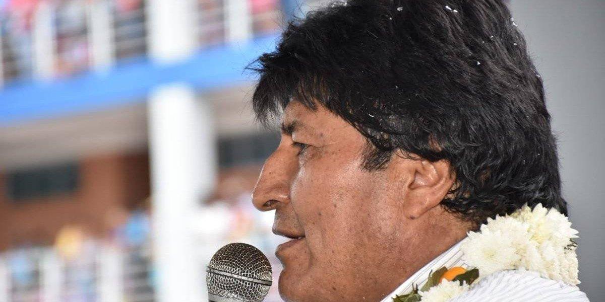 Evo Morales se la juega por Bolivia y quiere sumarse a la organización sudamericana del Mundial 2030