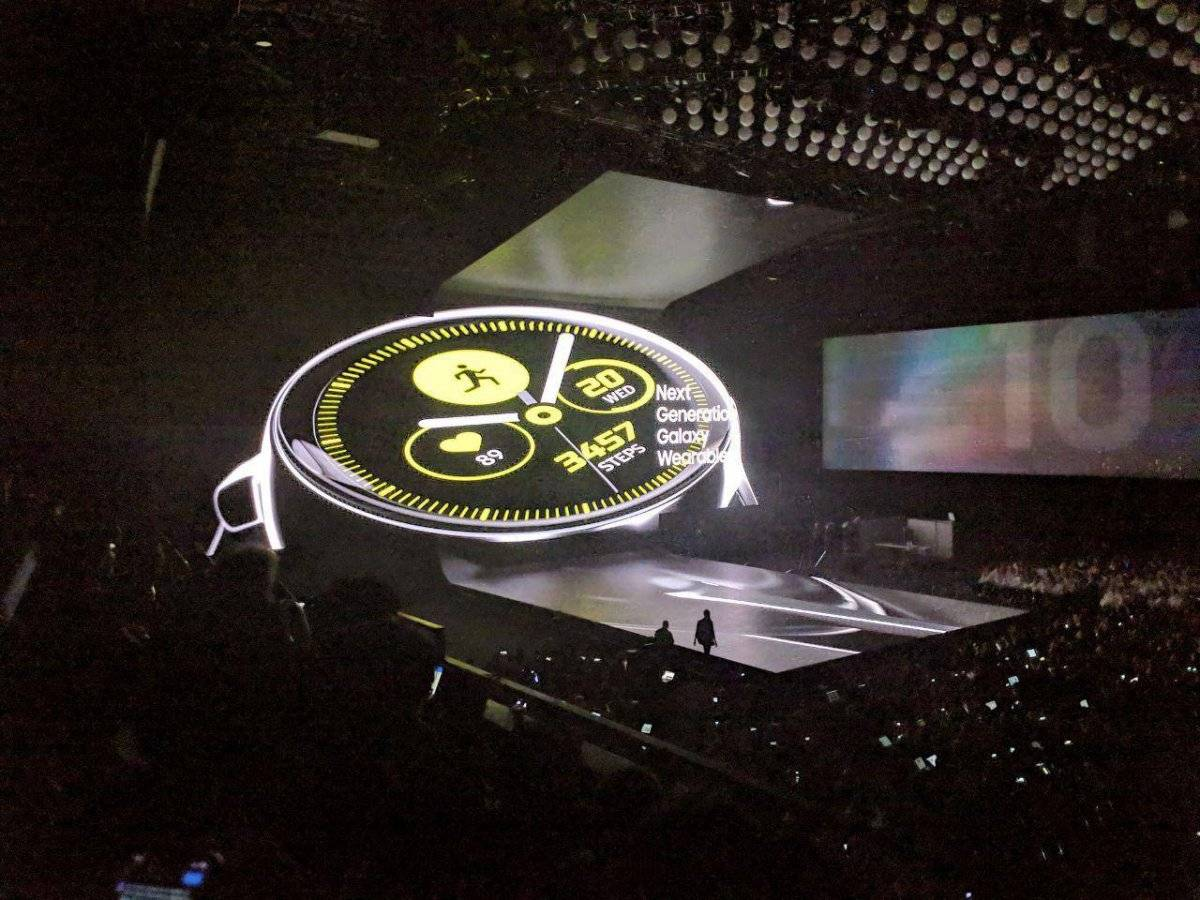 Galaxy Watch Active y Fit