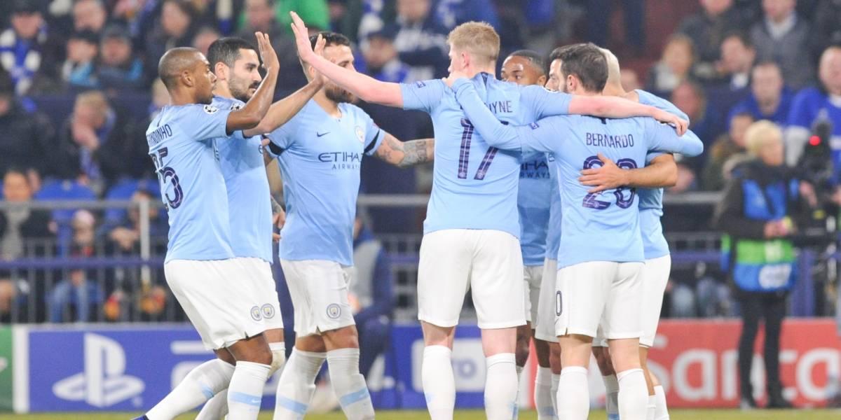 Manchester City vence adversidades y remonta al Schalke