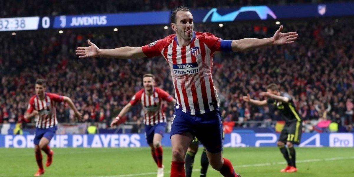 Atlético de Madrid sacó a relucir su sangre charrúa y dio el primer golpe en la Champions ante Juventus