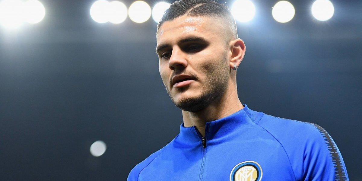 ¿Fingió lesión? Inter desmiente algún problema en la rodilla de Mauro Icardi