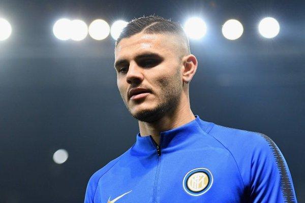 El Inter de Milán mandó a Mauro Icardi a someterse a una revisión médica por su supuesta lesión en la rodilla. / Getty Images
