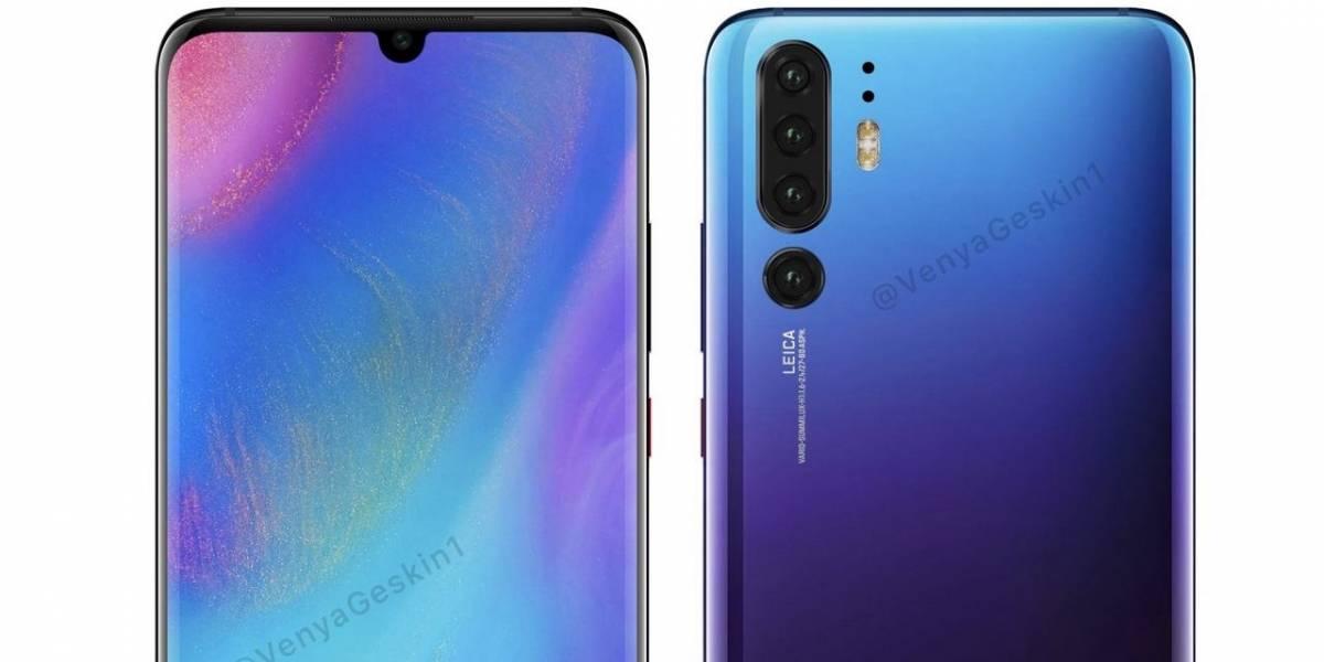 """CEO de Huawei """"confirma"""" que el P30 Pro tendrá cuatro cámaras"""