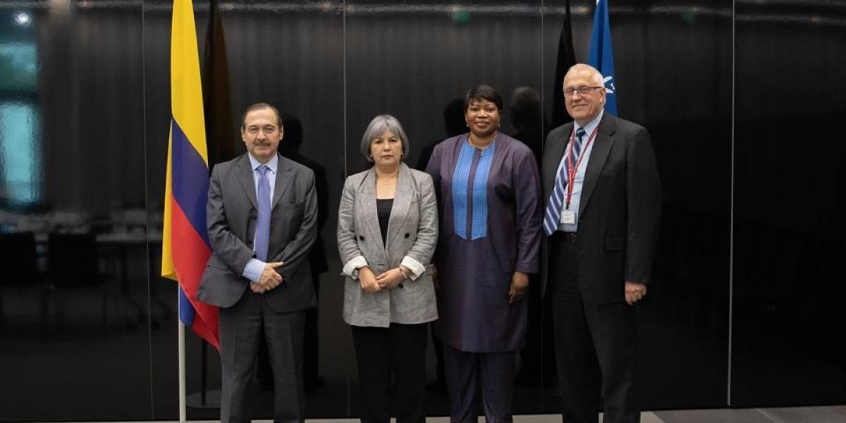 La Corte Penal Internacional pide a Duque respaldo a la JEP