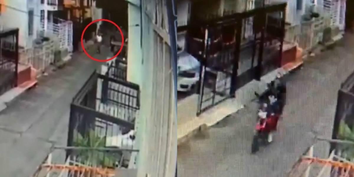 Video registró momento en el que atacan a juez en Cali