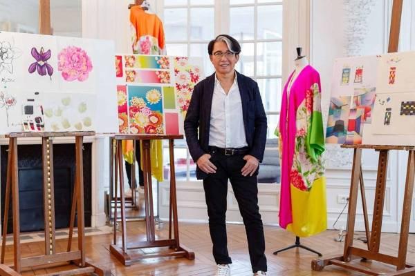 e4b1ea35 El diseñador japonés, Kenzo Takada presentó Life Colour by K.T, su nueva  fragancia en colaboración con la marca Avon.