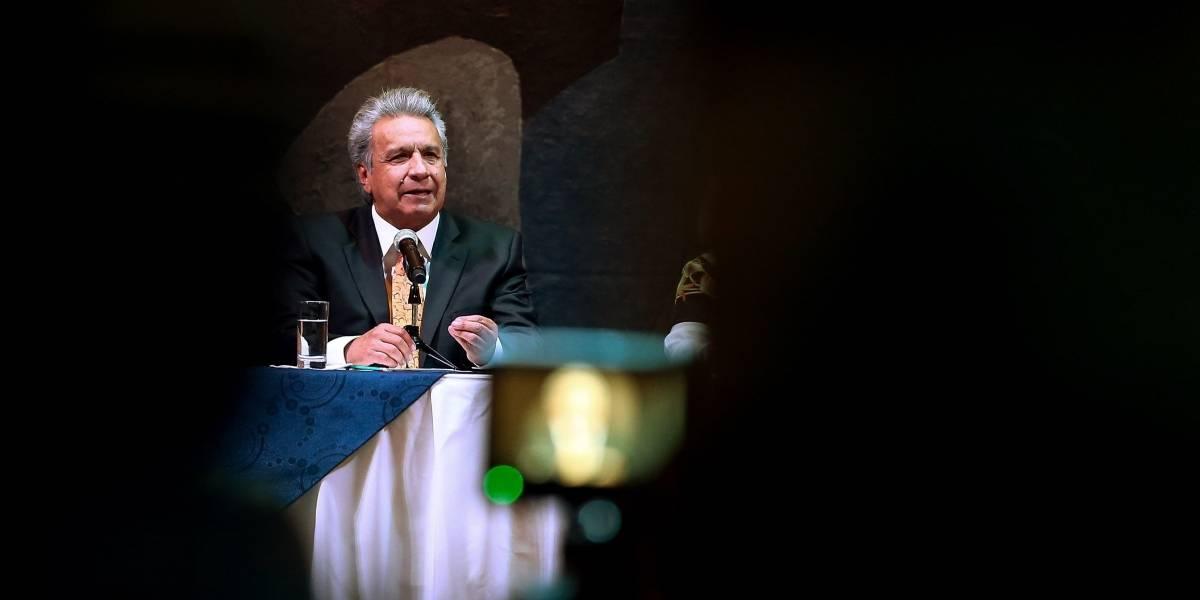 Lenín Moreno arremete contra Correa en la firma de Declaración de Chapultepec