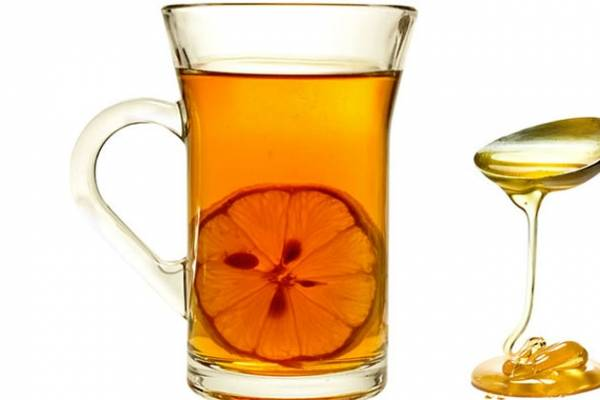 Te con limon y miel para adelgazar
