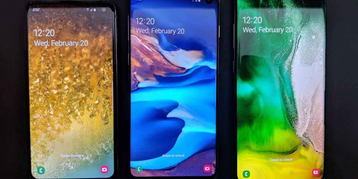 Precios en Chile para el Samsung Galaxy S10, S10+ y S10e