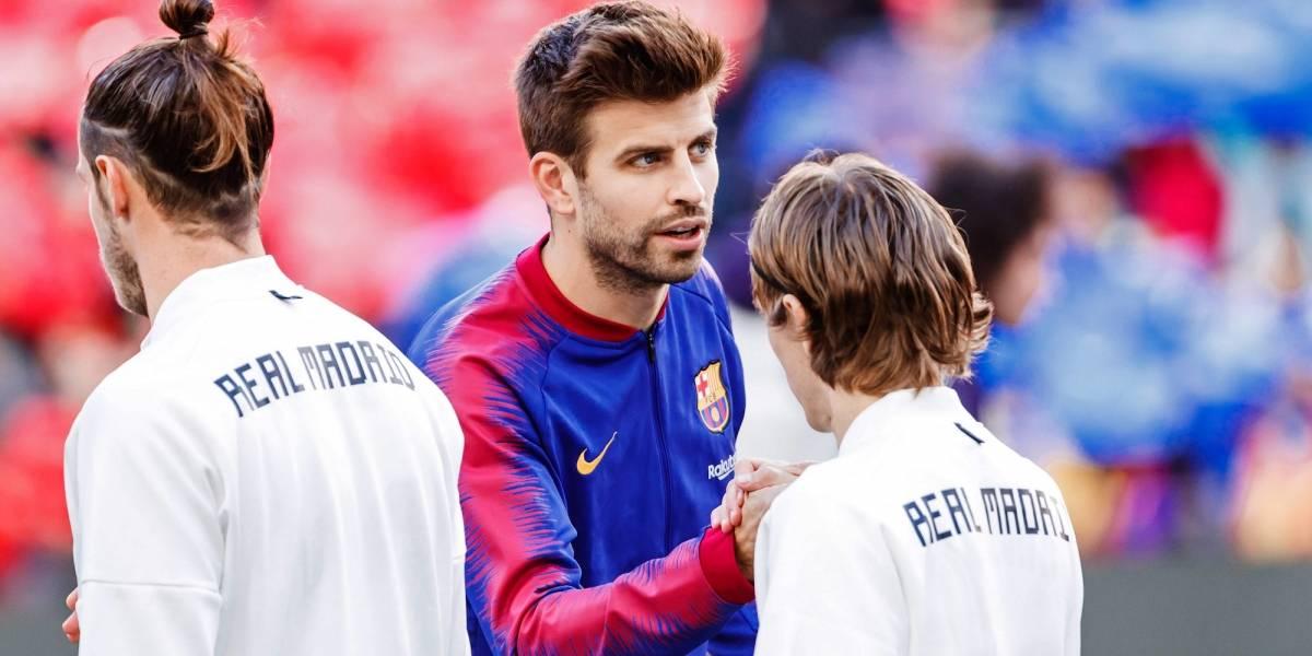 Piqué se burla del Madrid por los reclamos, tras perder la final de basquet