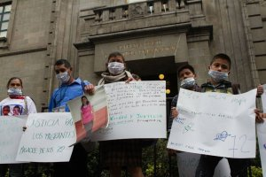 Protesta por migrantes asesinados en San Fernando