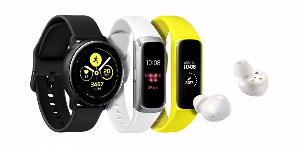 Samsung: Mira el nuevo Galaxy Watch Active y los Galaxy Buds con carga inalámbrica