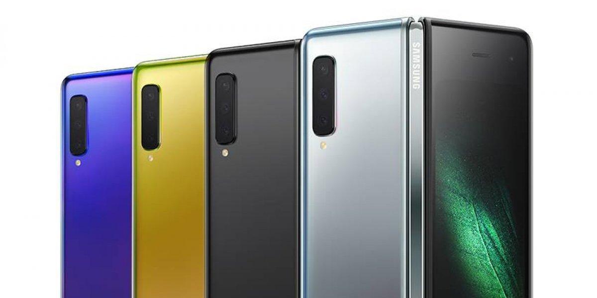 Así luce el Galaxy Fold, el nuevo teléfono plegable de Samsung
