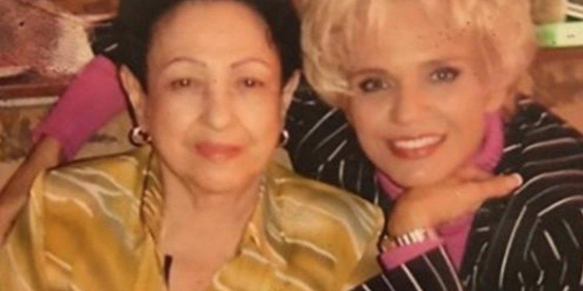 Muere la madre de Charytín Goyco