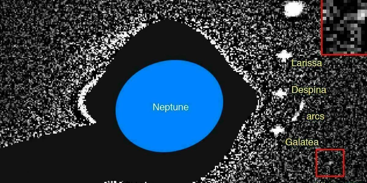 Luna más pequeña de Neptuno quizá sea fragmento de una luna mayor