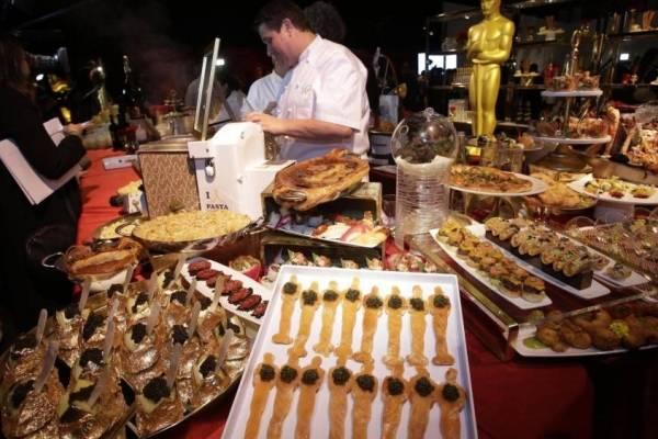 Te mostramos qué cenarán en los Oscar 2019