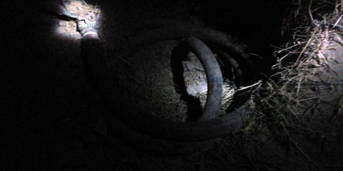 Cinco detenidos por toma clandestina de gas LP en Teotihuacán