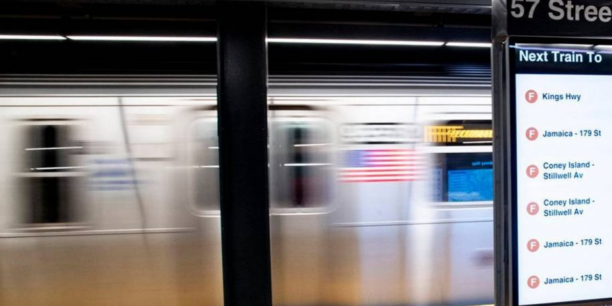 Murió arrastrado por el tren subterráneo luego de que sus ropas quedaran atrapadas en uno de los vagones