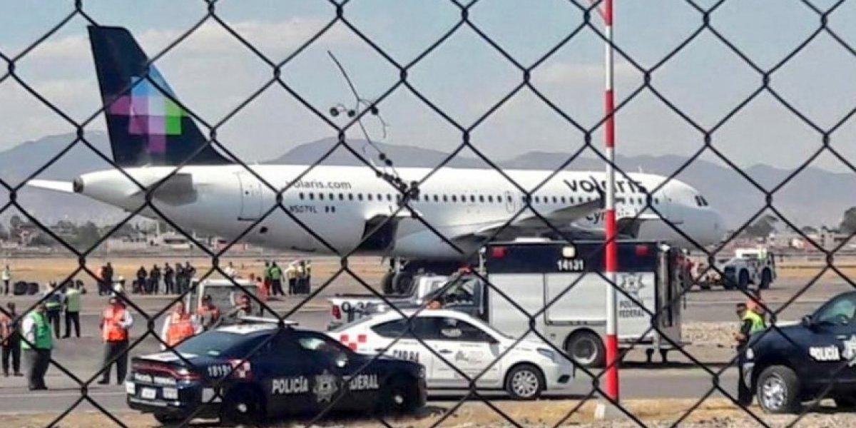Cancelan vuelo con destino a Mérida desde el AICM por falsa alarma de bomba