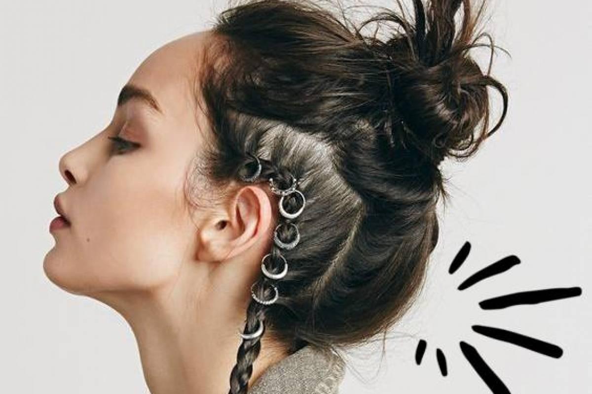 Peinados Con Trenzas Y Cabello Suelto Que Puedes Llevar Toda La