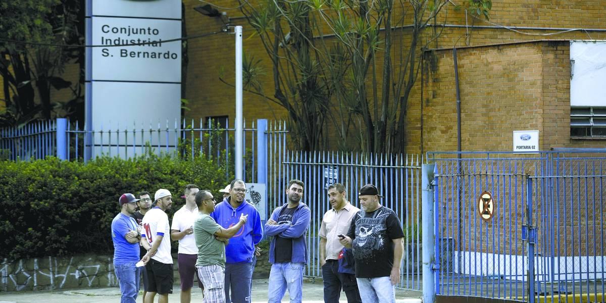 Ford fecha acordo de compensação aos funcionários de fábrica de São Bernardo