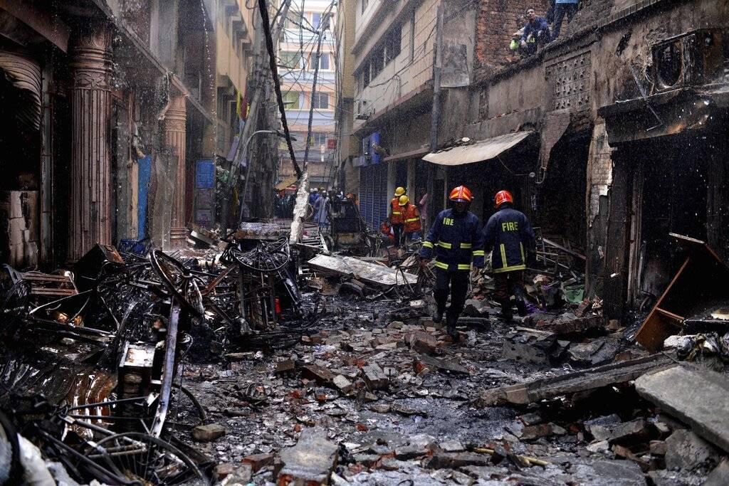incendio Bangladesh