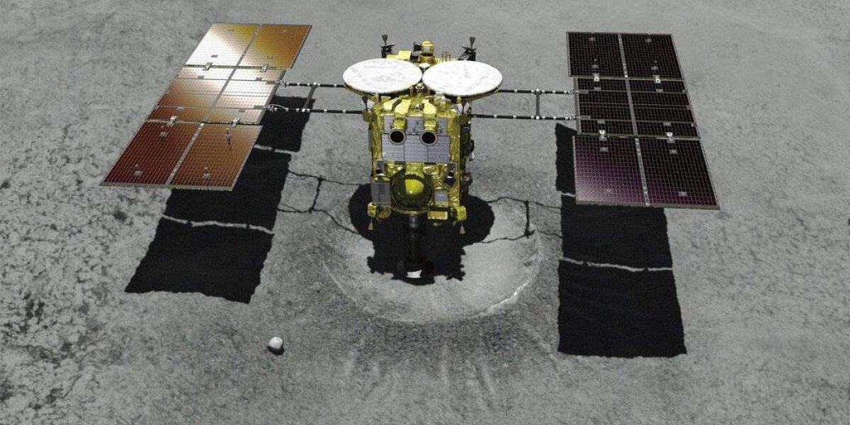 Japón logra llegar al asteroide Ryugu