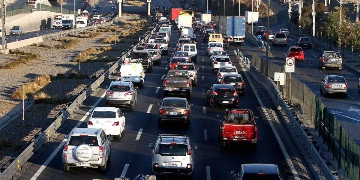 Parte la restricción vehicular 2019 en Santiago