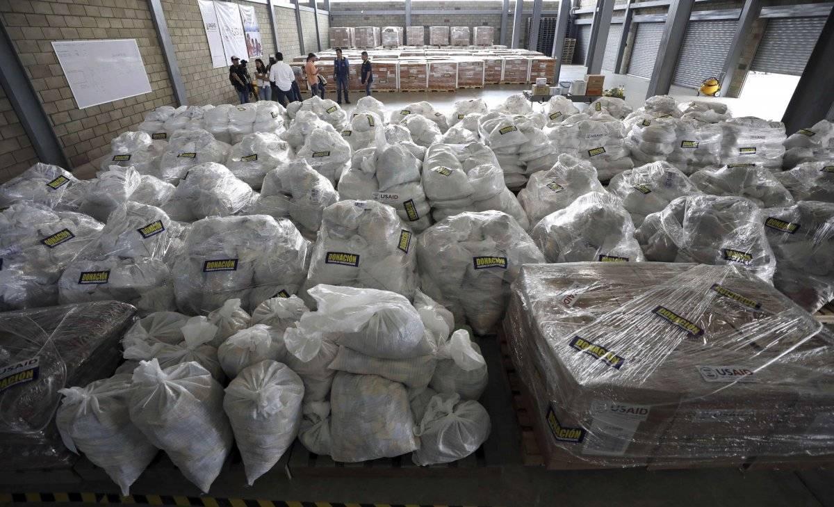 Ayuda humanitaria estadounidense para Venezuela