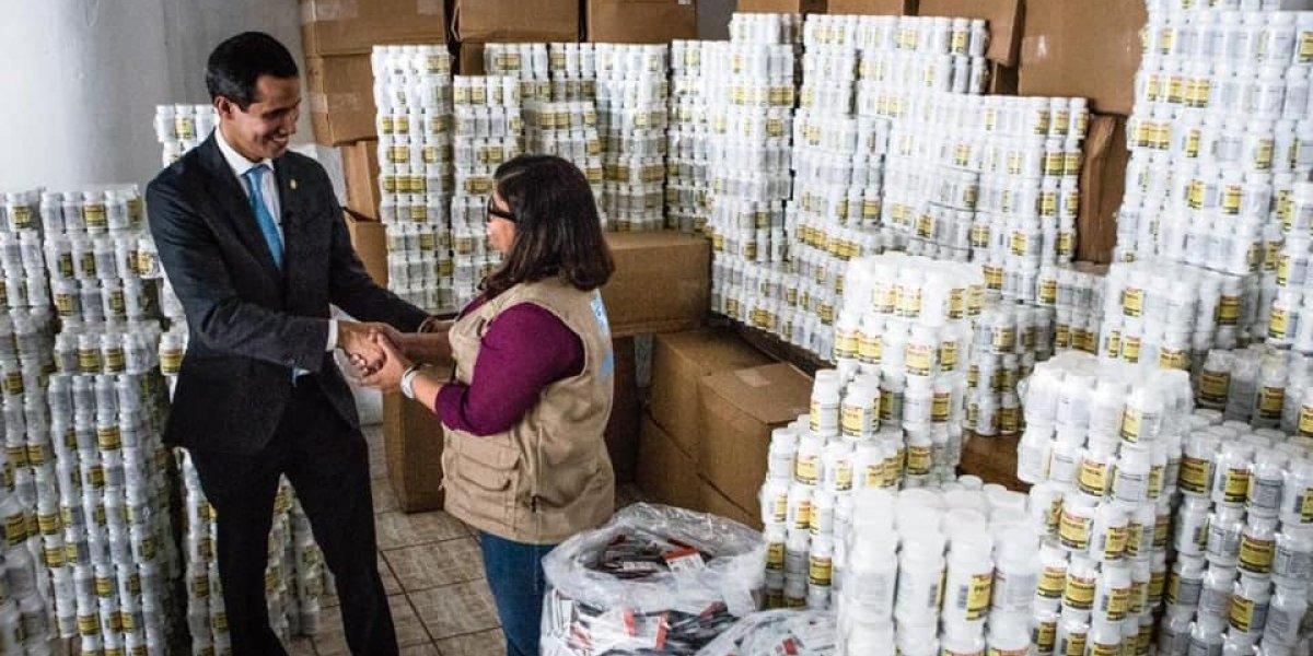 Juan Guaidó irá a la frontera colombiana por ayuda humanitaria
