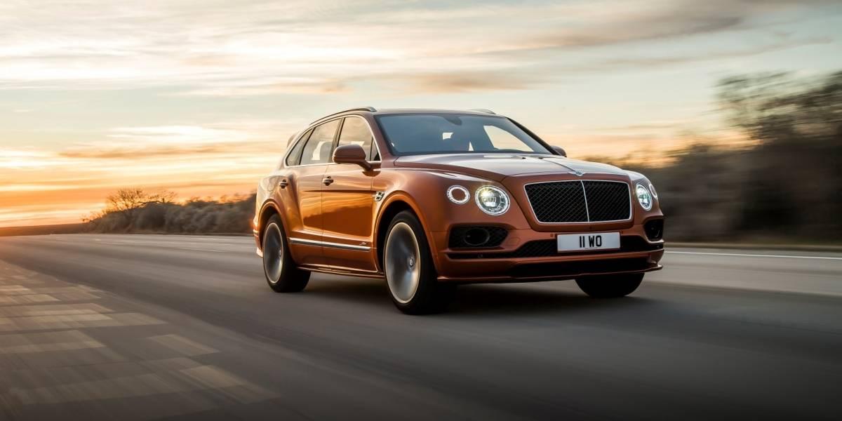 Más rápido y lujoso: Bentley presenta el Bentayga Speed