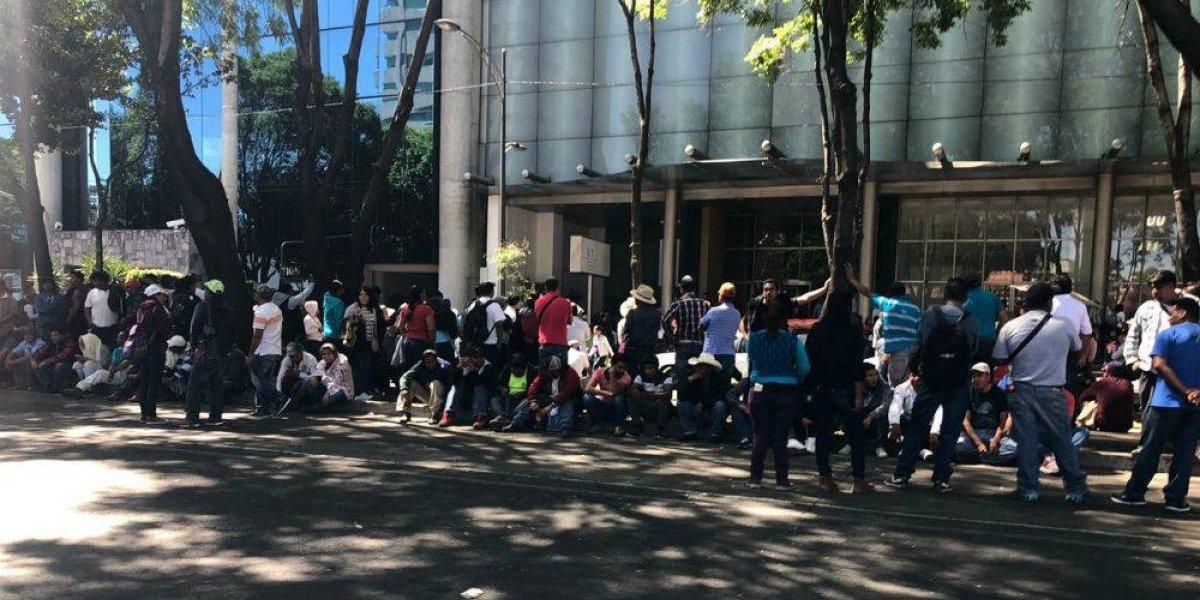Pobladores de Hidalgo cierran Insurgentes para exigir obras en su comunidad