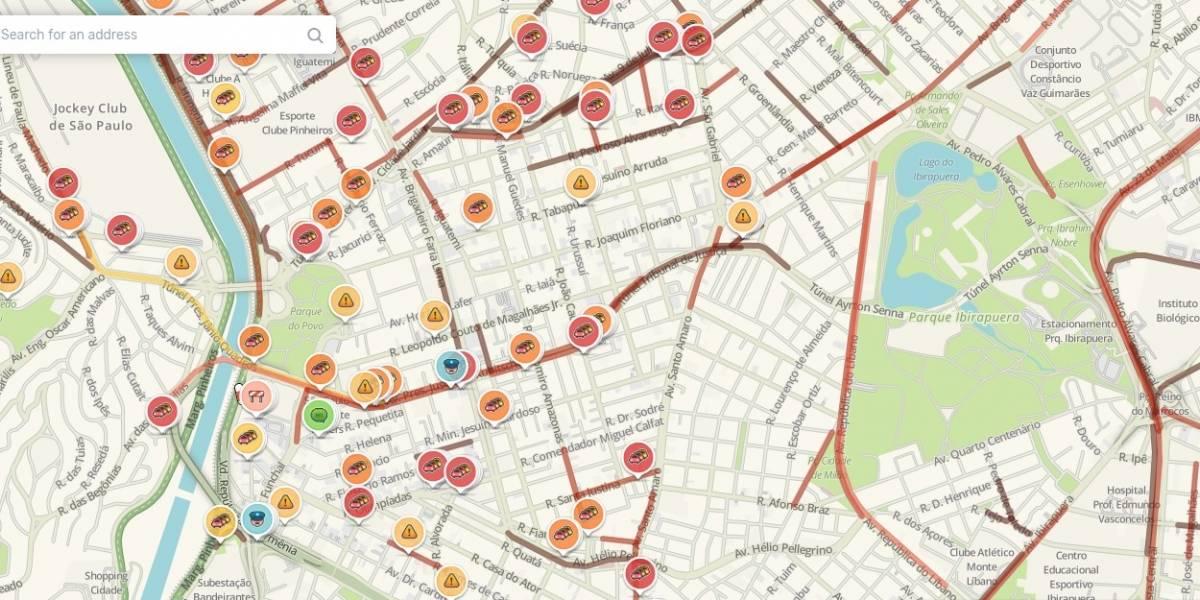 Trânsito em São Paulo: acompanhe a situação das principais vias ao vivo