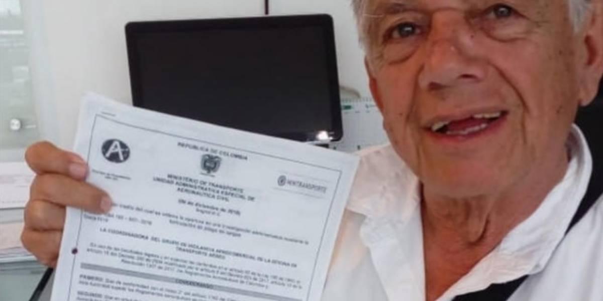 Aerocivil habló del caso del hombre multado con 18 millones de pesos, por bajarse los pantalones