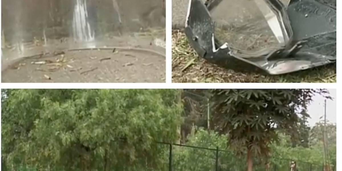 Por escapar de la policía, muere motociclista al estrellarse contra árbol en Bogotá