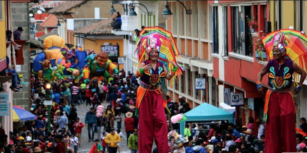Así se vivirá el Carnaval de Guaranda 2019, 'La Fiesta Mayor'