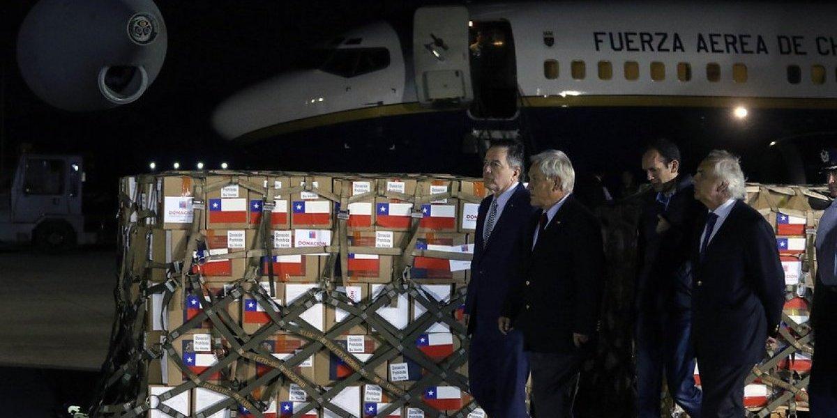 Ayuda humanitaria rumbo a Cúcuta: Presidente Piñera condenó crueldad del régimen venezolano al confirmar su viaje