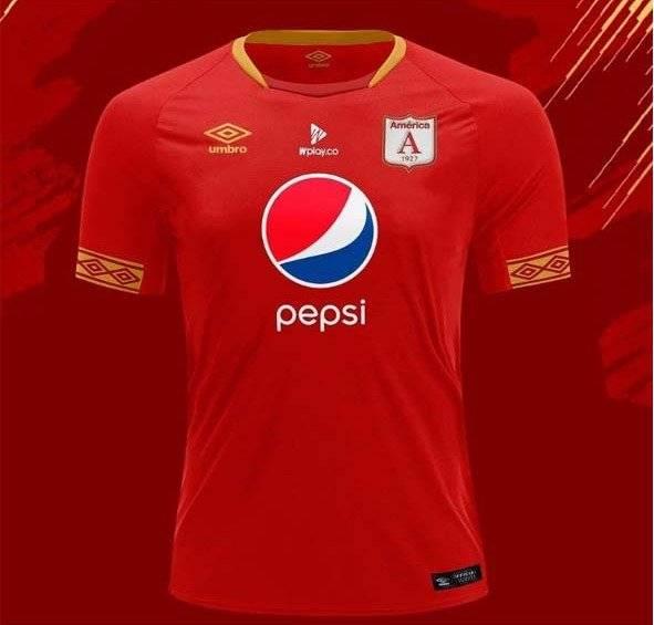 Nueva camiseta del América de Cali para la temporada 2019