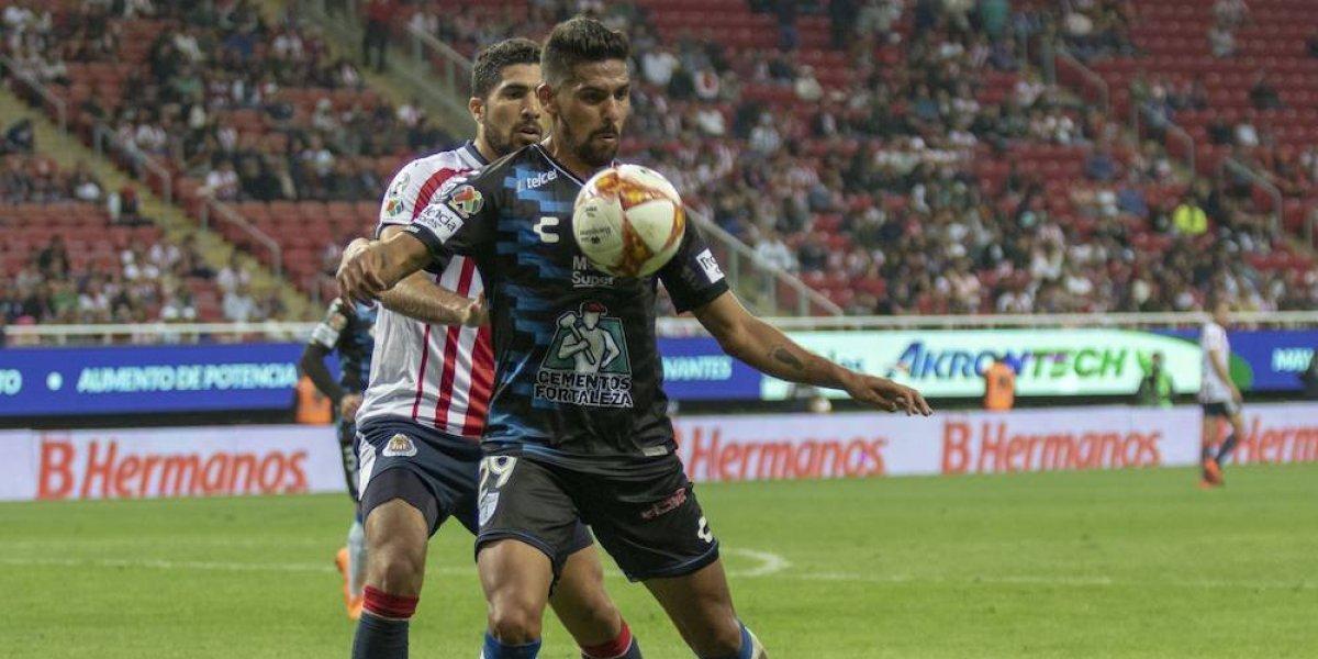 ¡Dura caída! El Pachuca de Palermo goleó a Chivas en el Hidalgo