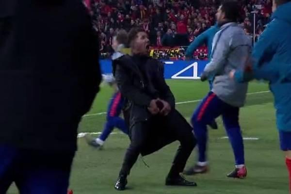 La UEFA abre un procedimiento disciplinario a Simeone