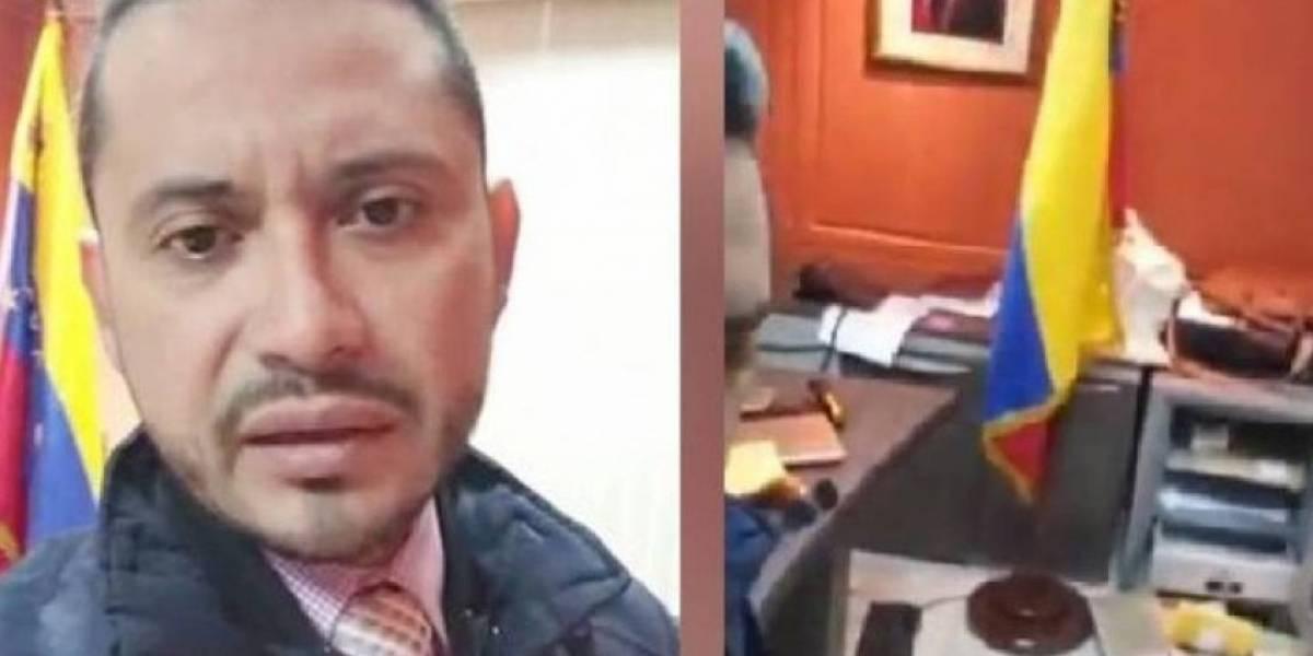 Cuatro detenidos tras asalto al consulado de Venezuela en Guayaquil