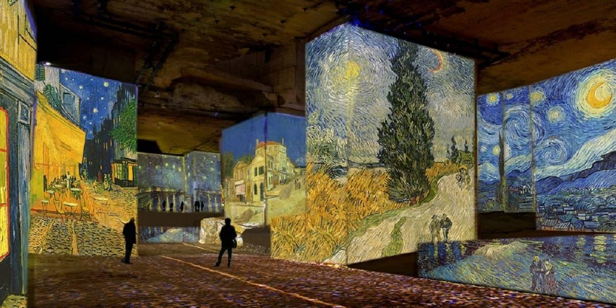 Galeria francesa inaugura exposição imersiva com quadros de Van Gogh em 3D