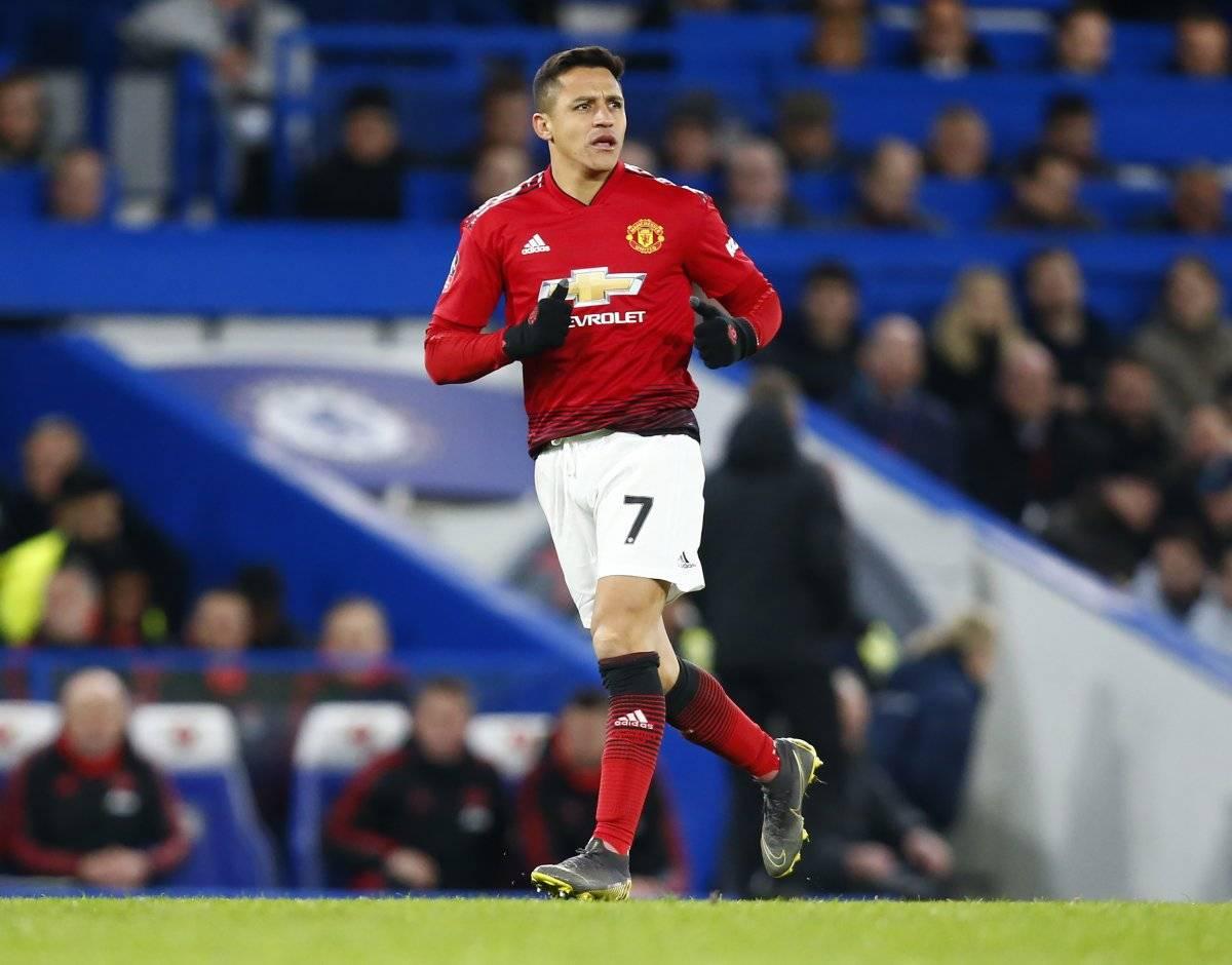 El delantero nacional jugará un clásico enfrentando al Liverpool /Imagen: Getty Images