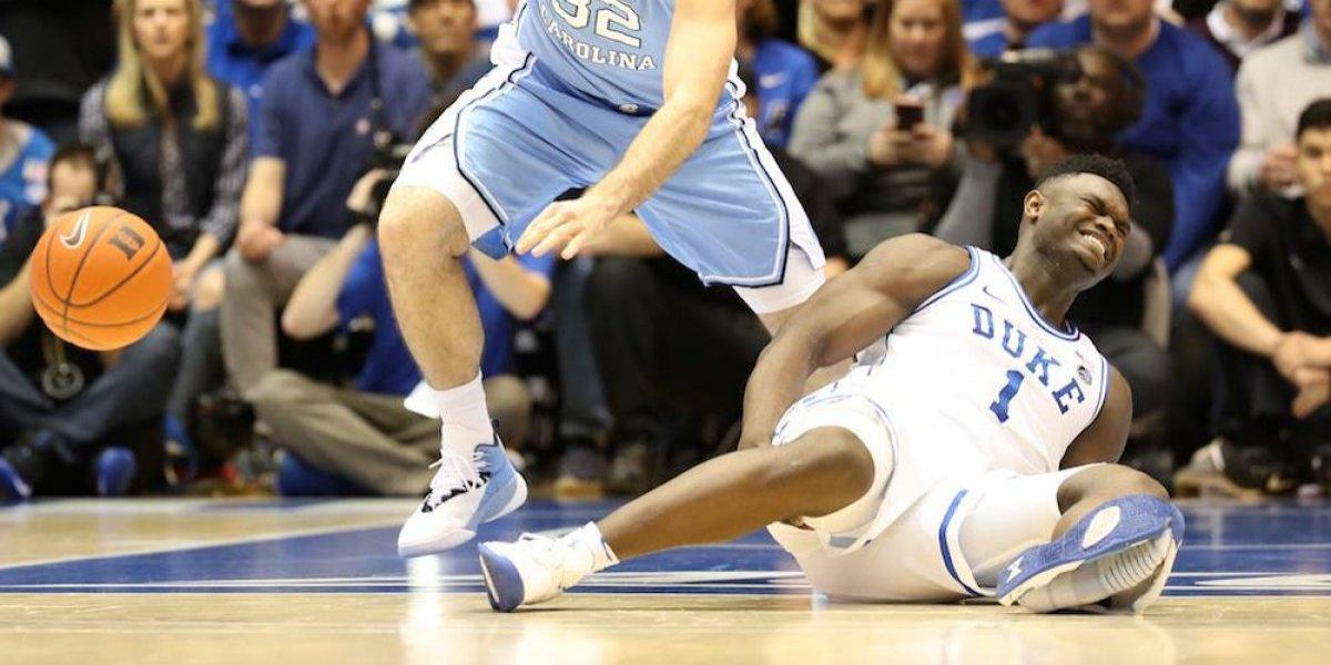 ¡Increíble!, explota tenis de principal prospecto de NBA durante partido