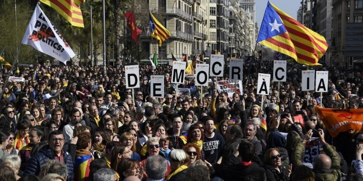 Huelga en Cataluña en rechazo a juicio contra líderes independentistas